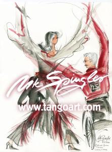 Irene und Uwe tanzen für Österreich bei den German Classics 2011 Latein