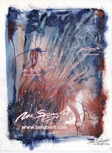 Entschweben - inspiriert von der eXtravaganXa 2012