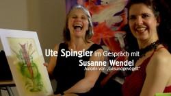 Gesundgevögelt – Interview mit der Autorin Susanne Wendel und einige meiner Bilder zum Thema