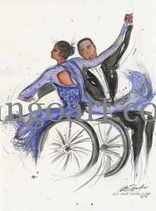 Rollstuhltanz Andrea + Erik