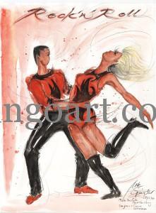 """Carina zeigt ihre femine Seite während des Rock'n Roll Tanzes beim """"kick back""""!"""