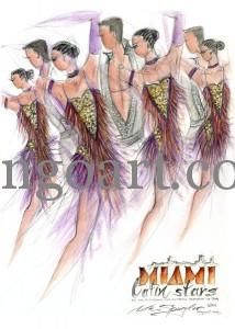 """Teambild desTC Fischbach Hofheim-ReLi Sued-Latein """"Miami Latin Stars"""""""