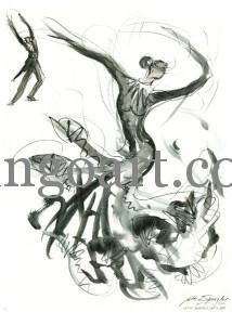 """Michael Jackson"" Choreografie des OTK Berlin, A-Team"