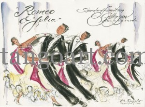 """Romeo+Julia"" - Choreografie der Standardformation Göttingen, A-Team"