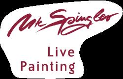 Ute Spingler live painting