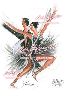 """Das C-Team des Buchholzer TSK 08 tanzt """"Furacao"""""""