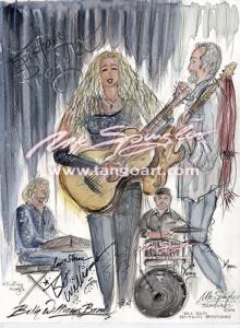 Die Bet Wiliams Band rockt am 30. Jan.2014 im Kulturzentrum LOLA