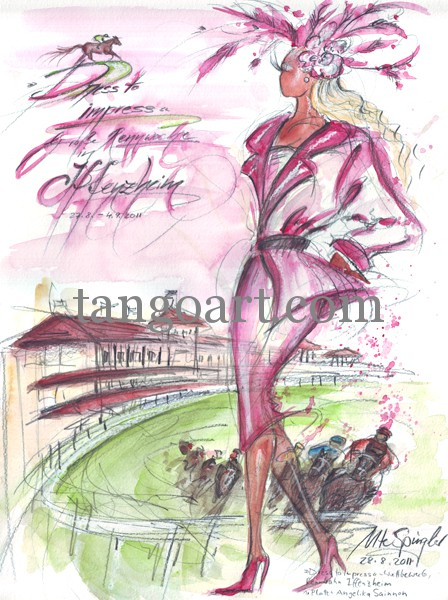 Angelika Sainnon ist die glückliche Gewinnerin 2011 des 1. Platzes