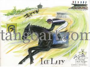 """IceLady im 7. Rennen - """"Preis der Salzgitter AG""""- in Bad Harzburg am 24.7.2011"""
