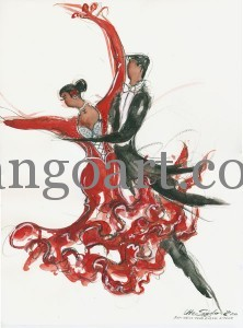 """Zorro"" - Choreografie des Rot-Weiss-Klub Kassel, B-Team"
