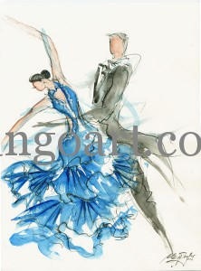 "Die ""Dancing-Queens ans Kings"" des RGC Nürnberg e.V., 1.BL"