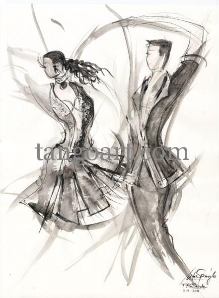 Das A-Team der TFG Stade tanzt die Choreo Michael Jackson